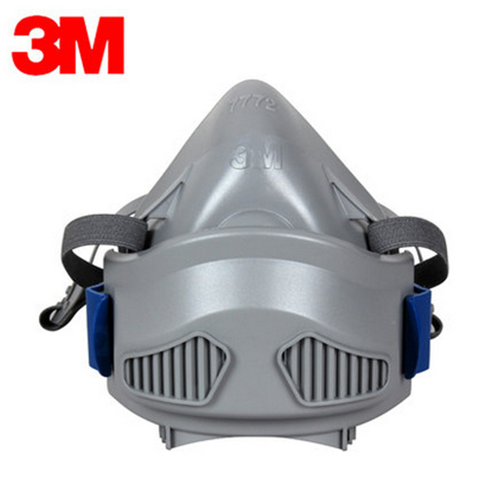 ФОТО 3M7772 Match 7744 Silica Gel Dust Mask Comfort Anti-Industrial Colliery Dust Polish Cozy Type Dust Masks Lvchen Rate Of 95%