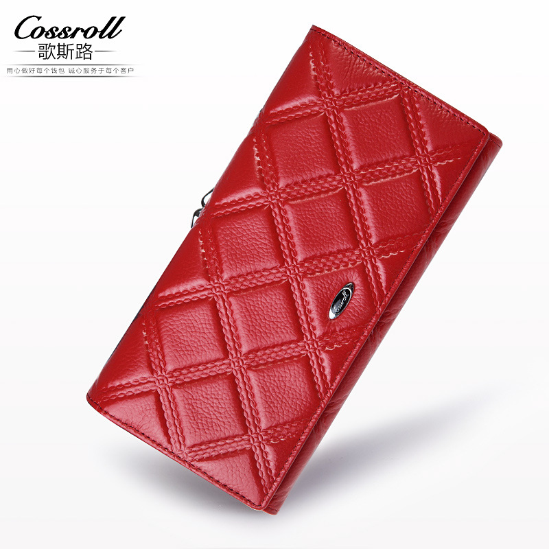 Brand Womens Wallets and Purses Female Long European and American Style Genuine Leather Wallet Coin Purse Ladies Designer Wallet stock promotion genuine leather wallet female purse long coin purses holder ladies wallet hasp fashion womens wallets and purses
