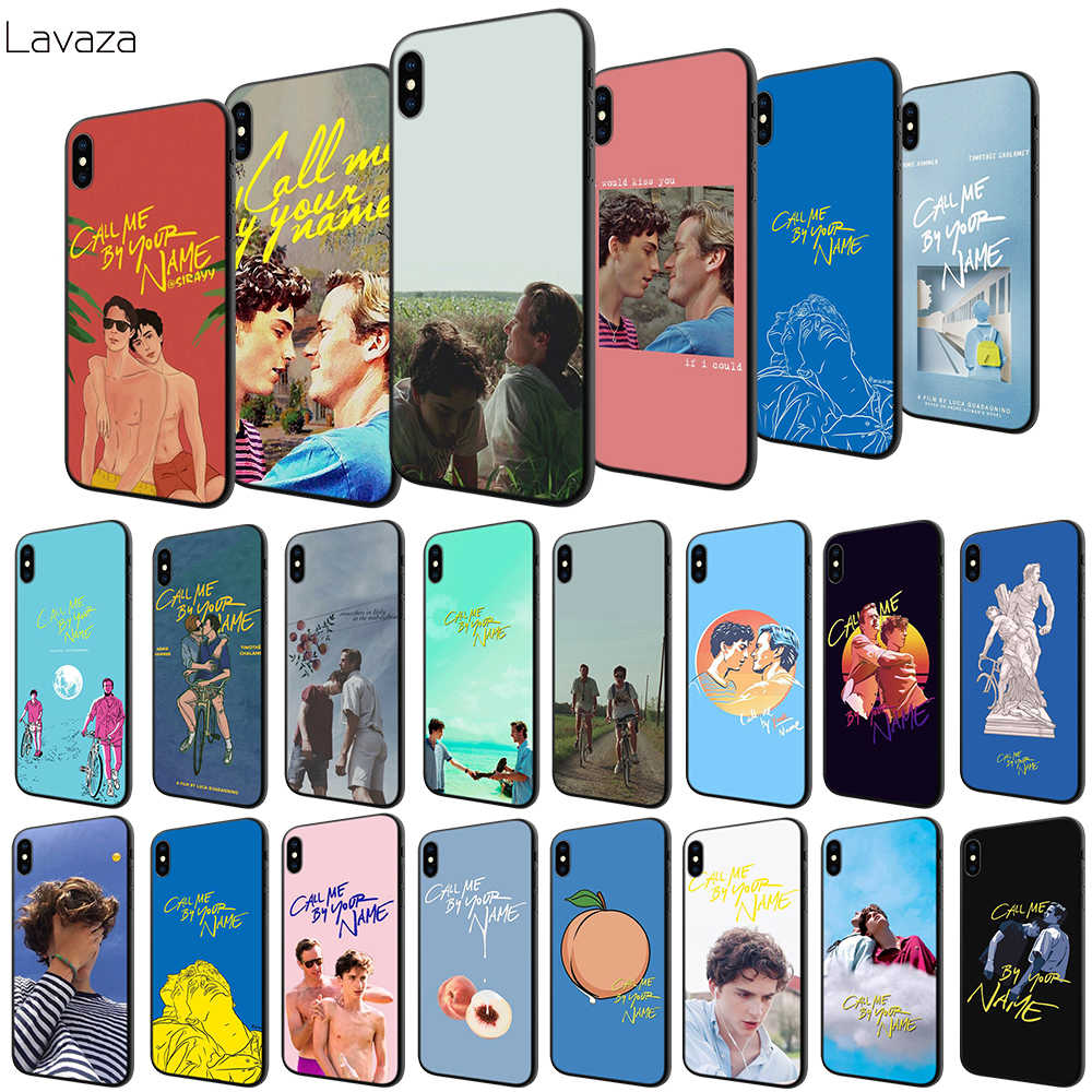 Lavaza Call Me โดยของคุณชื่อ Soft Case สำหรับ Apple iPhone 6 6 S 7 8 Plus 5 5 S SE X XS MAX XR TPU Cover