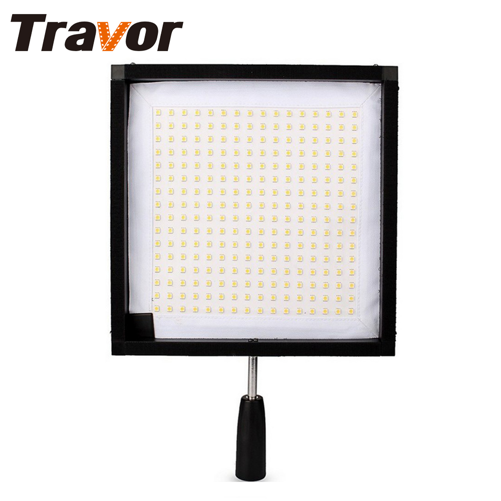 Travor 2017 hot selling Flexible led video light FL-3030 size 30*30CM with 2.4G remote control CRI 95 5500K for video shooting