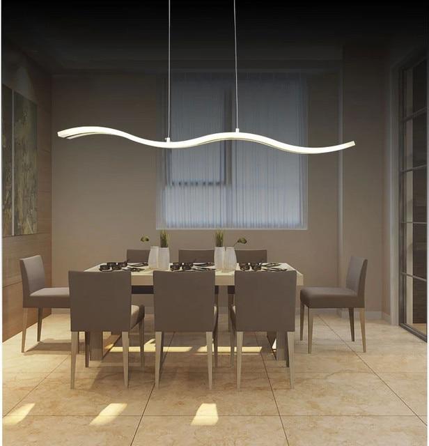 2015 luci a sospensione per sala da pranzo moderna cucina illuminazione decorativa hanging led - Lampade sopra tavolo da pranzo ...