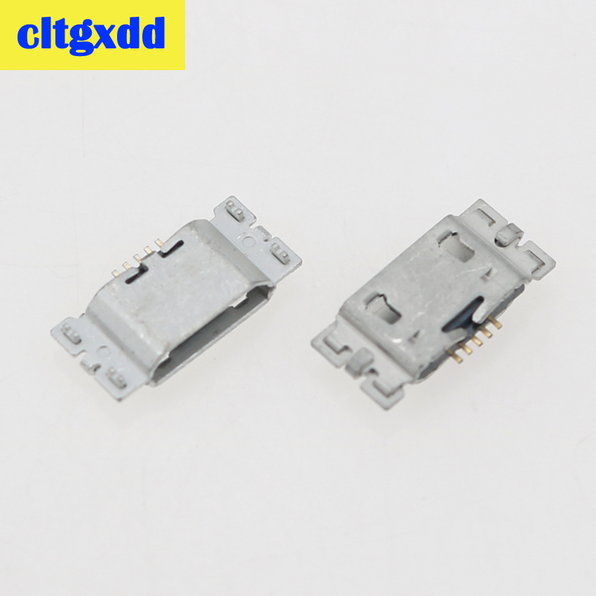 cltgxdd 2 pcs Charging Connector Plug For Asus <font><b>ZenFone</b></font> <font><b>Go</b></font> TV <font><b>ZB551KL</b></font> X013D ZB452KL X014D Micro Mini <font><b>USB</b></font> Jack Socket Port 5pin image
