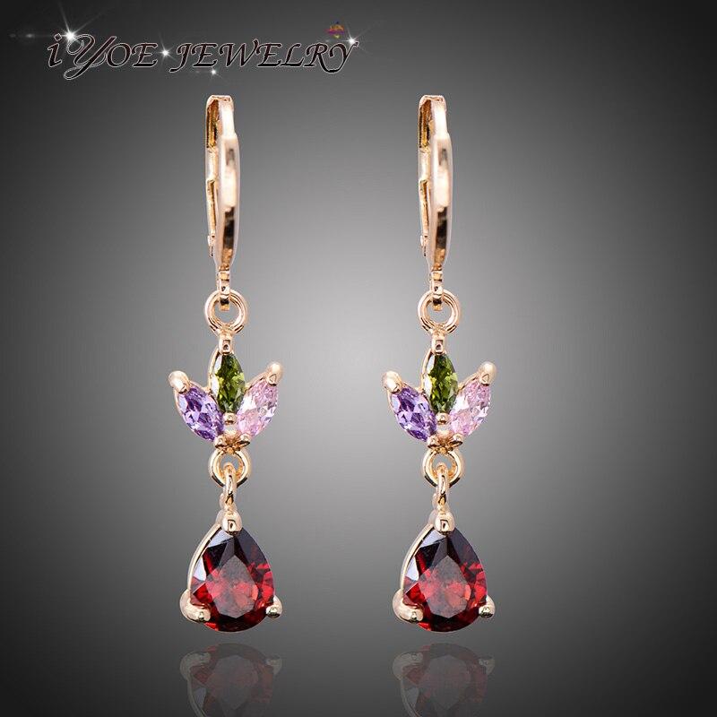 IYOE Latest Design Gold Color Long Dangle Earrings Women New ...