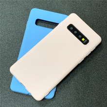 Matte Candy TPU Case For Samsung Galaxy S10 Lite S8 S9 Plus Note 9 8 5 A7 2018 S6 S7 Edge J3 J5 J7 2016 2017 J4+ J6 EU A6 A8