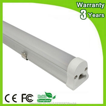 (10PCS/Lot) 85-265V Epistar Chip 3 Years Warranty CE RoHS 3ft 0.9m 900mm 14W T5 LED Tube Light Fluorescent Lamp Daylight