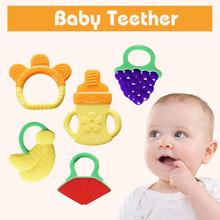 Tweezers Ear Syringe Teething Ring Safety Biting Kids Cute Hot_Sale Baby Infant Soft High_quality Orthodontic Gear Fruit Teether