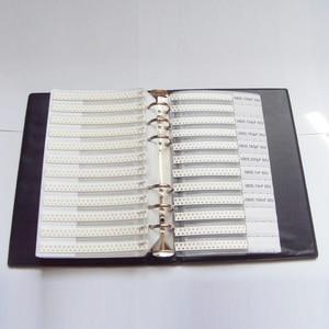 Image 5 - 0805 سمد عينة كتاب 63 القيم 3025 قطعة 5% المقاوم عدة و 17 القيم 700 قطعة مكثف مجموعة