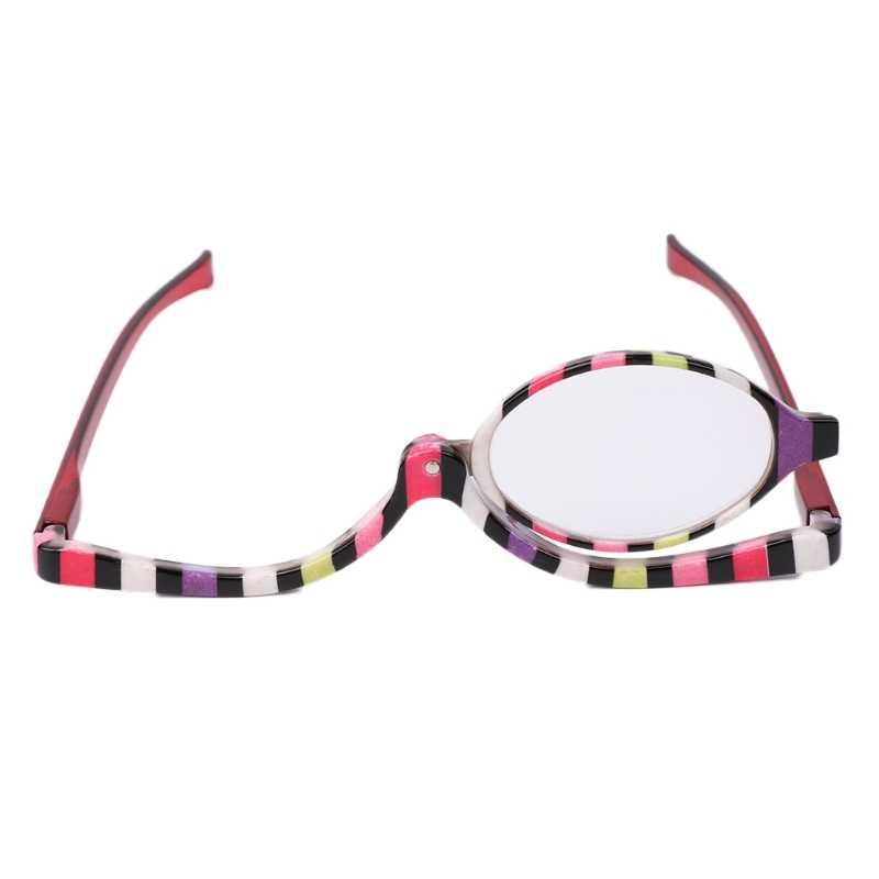 8ddd5e9cf87 Rotatable Magnifying Glasses Makeup Cosmetic Reading Glass Folding  Eyeglasses +1.5+2.0+