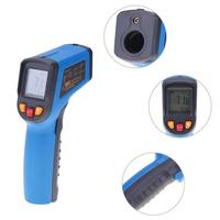 Digital Non Contact Laser LCD Display IR Infrared Digital C F Selection Surface Temperature Thermometer Pyrometer