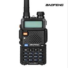 128CH 5W VHF UHF 136 174Mhz & 400 520Mhz iki yönlü telsiz BF UV5R profesyonel CB radyo istasyonu Walkie Talkie Baofeng BFUV5R