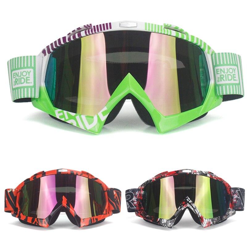 Jojimo trileris Vyras / Motocrosso akiniai Akiniai Dviračių akių drabužiai MX išjungti kelio šalmus