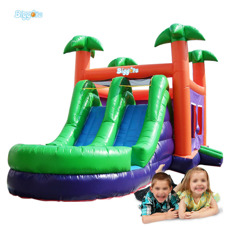 3 In 1 Inflatable Bouncer Water Slide With Pool For Sale commercial inflatable water slide with pool made of pvc tarpaulin from guangzhou inflatable manufacturer
