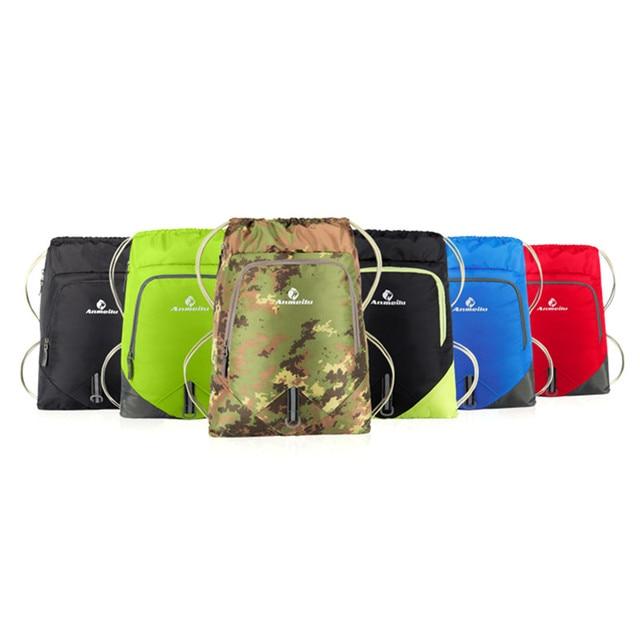 Cheap Fishing Bags Sports Backpack Walking Pack Storage Bags Nylon Drawstring Bag 12L Beach Gym Swimming Pool