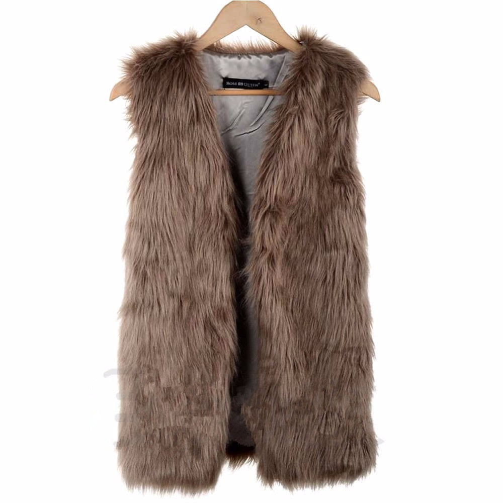 1 -Faux-Fur-Gilet-Body-Winter-Short-Vests-Sleeveless-Jacket-Waistcoat-Coats_