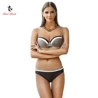 Ariel Sarah Brand 2017 Hot Sale Swimwear Women Beach Wear Solid Bathing Suit Low Waist Women