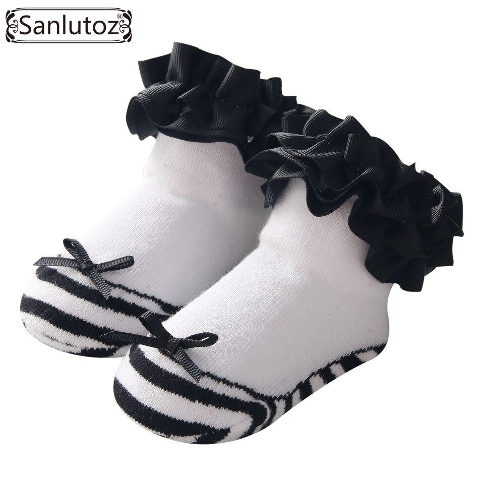 Loyal Sanlutoz Baby Socks For Girls Newborns Socks For Princess Infant Socks Holiday Birthday Gifts For Baby Girls Fashion 0-12 Months