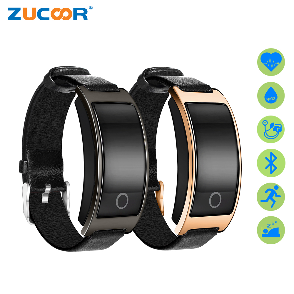 ZUCOOR Smart Bracelet Pedometer Fitness Band Tracker CK11S Blood Pressure Pulse Monitor Wearable Devices Cardiaco Men