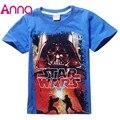 New 2016 boys star wars clothing t shirt girls kids nova star wars top t-shirt children summer t shirt star wars meninos roupas