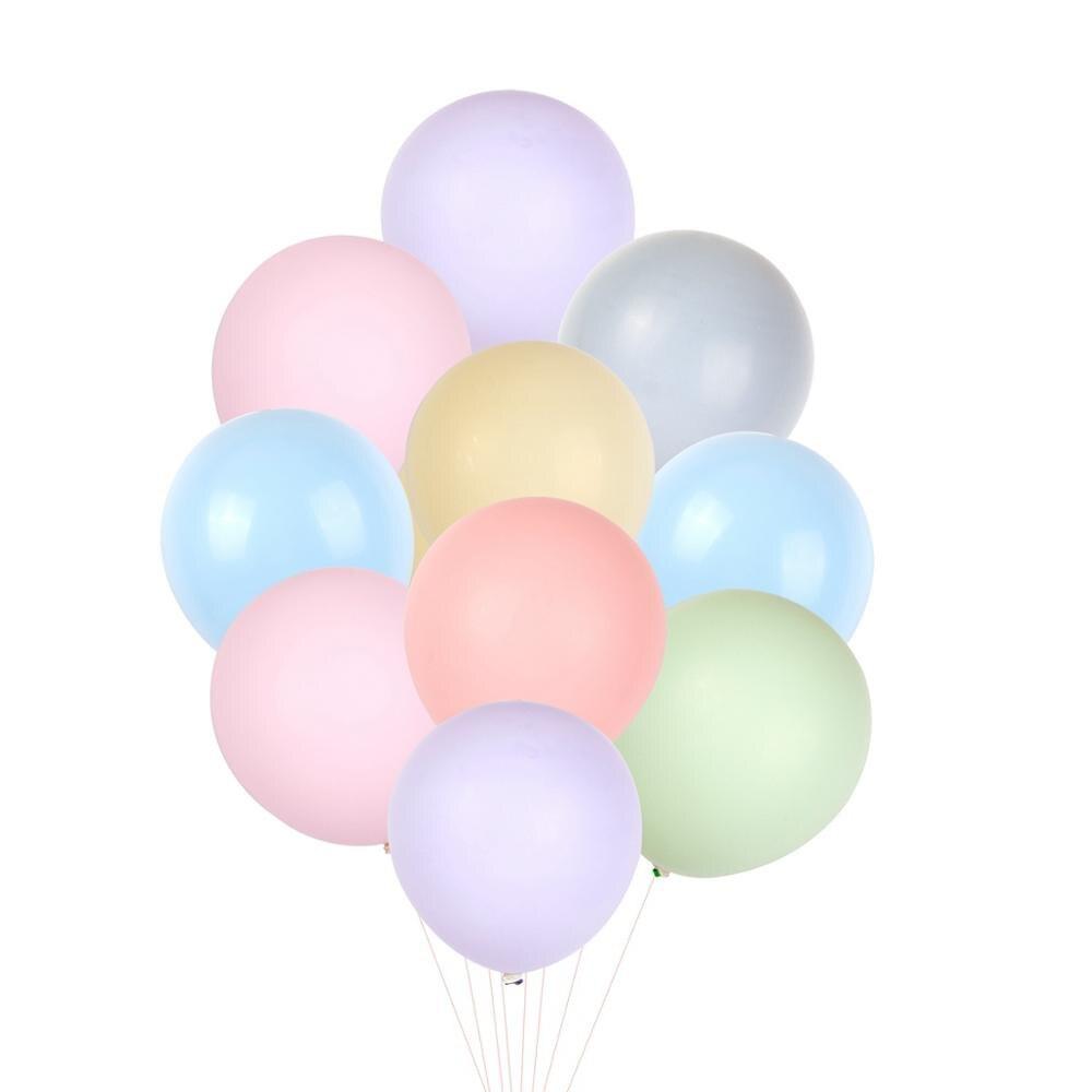 FENGRISE 50 stücke 10 Inch Macaron Ballon Hochzeit Luftballons kinder Geburtstag Ballons DIY Air Ballon Geburtstag Party Dekorationen