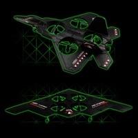 X31 2.4 GHZ RC rc מטוס קרב F-22 מטוס קרב עם ג 'יירו צעצועי מסוק 3D המעופף UFO RTF שלט רחוק ילד מתנה הטובה ביותר כדי