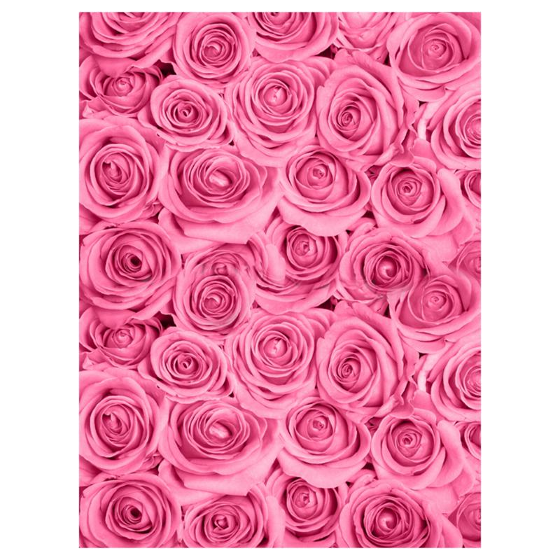 Alloyseed 0.9x1.5m Romantic Rose Photography Background Cloth Wedding Photo Backdrops Decor Photo Studio Wall Props Accessories