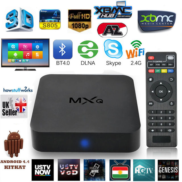US $99 0 |2015 Time limited Special Offer Android Tv Watch Mxq Mini Pc  Amlogic Quad Core Android 4 4 Smart Tv Box Best Apps Player Xbmc-in Set-top