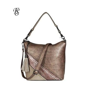 Змеиный для женщин сумка 2018 Новое поступление Мода PU сращены дамы повседневное сумки Высокое качество