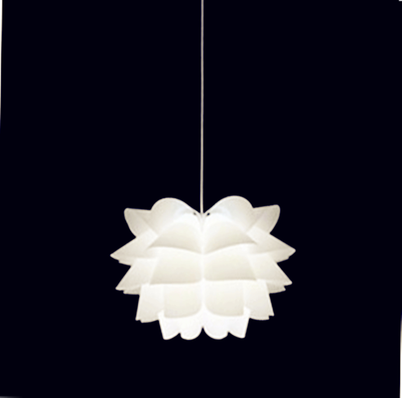 ФОТО PVC Lily style novel Flower Modern Dining Led Pendant Lamp for living room Art designs lamp Individual lamps