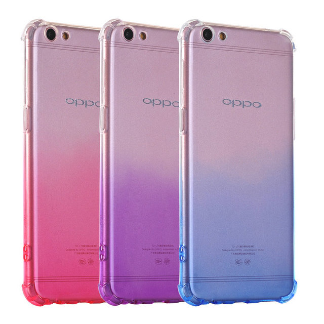 buy popular f218c 3c49b US $1.89 |Rainbow Gradient Color Case Shock proof Drop Soft TPU Silicon  Case For OPPO F1S A59 A77 F3 F1 Plus R9 Plus R9S Plus R11 Plus A57-in  Fitted ...