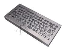Desktop 86 Keys Waterproof Metal Keyboard Industrial Desktop PC Keyboard