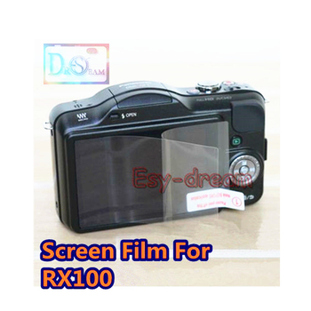Clear LCD Display Screen Guard Protector Film for Sony DSC RX10 RX100 Mark II III IV M2 M3 M4 M5 RX1R A9 ZV1 Replace PCK-LM15 image