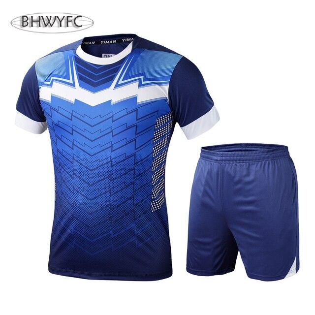 Bhwyfc vigilancia Fútbol 2017 Fútbol uniformes fútbol uniformes  personalizados Fútbol traje de entrenamiento uniformes del equipo 10416fbc6d94d