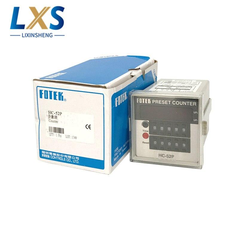 Taiwan FOTEK Counter Multifunction High Speed Response 0.1MS Five-digit Preset Counter HC-52P