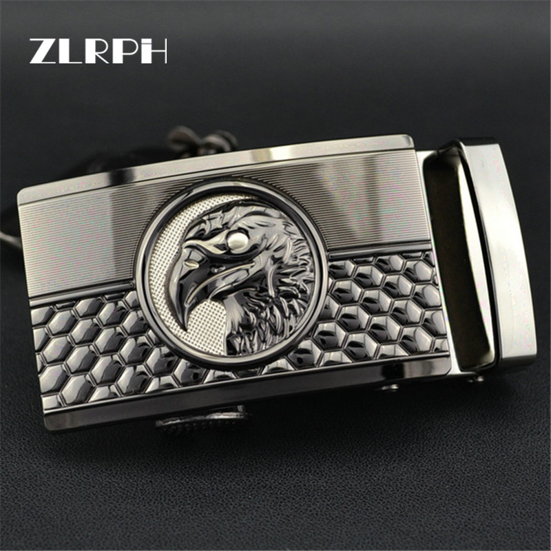 ZLRPH High-grade Belt Buckle Business Popular High-end Style Luxury Brand Man Eagle Head  Wholesale