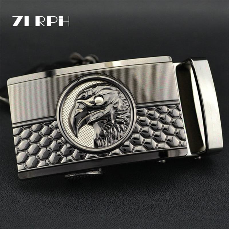 ZLRPH High-grade Belt Buckle Business Popular High-end Style Luxury Brand Man Eagle Head  Wholesale