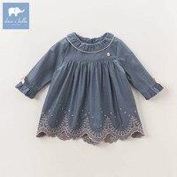 DB5618 ديف بيلا الخريف الرضع طفلة الأميرة الزفاف فستان عيد الأطفال الملابس تصاميم الفتاة vestido