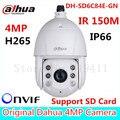 Mais novo dahua câmera ip varifocal dh-sd6c84e-gn 30x zoom lens 6 polegada hd 4mp câmera de rede ir dome de alta velocidade