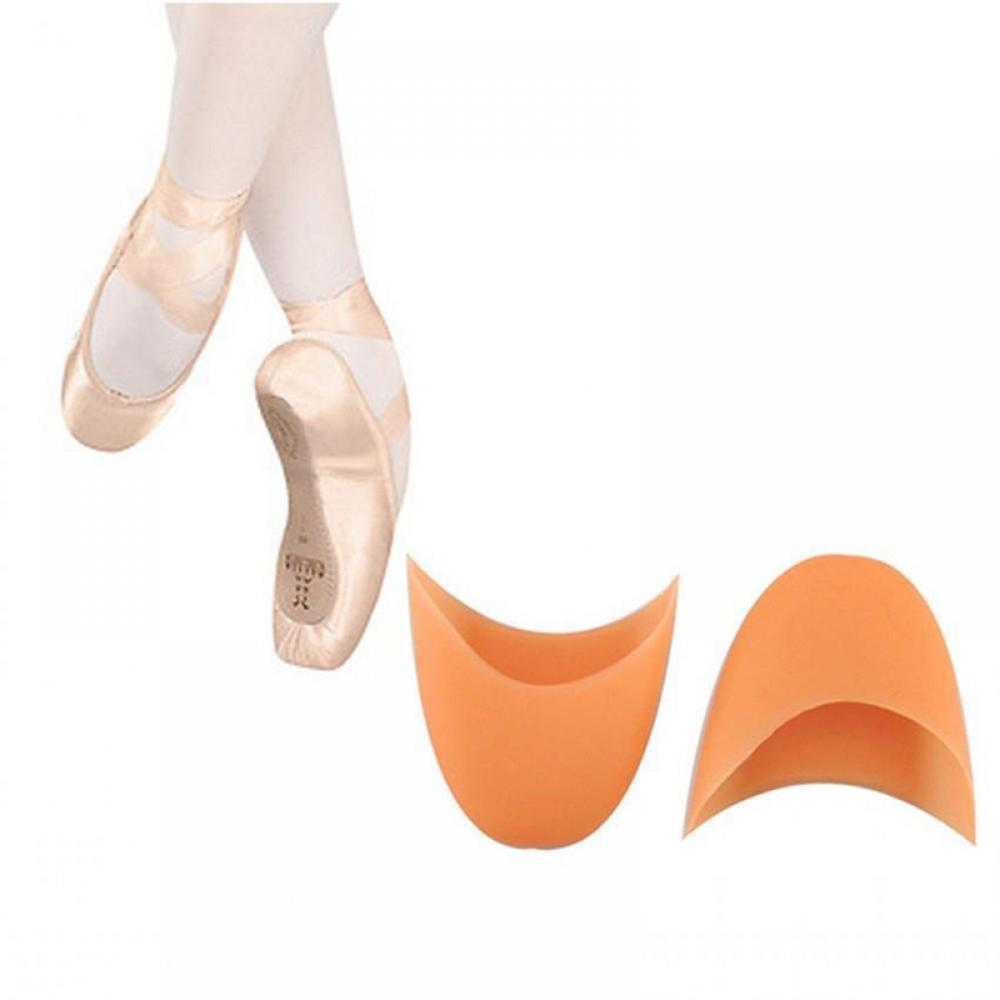 2PCS NEW Silicone Pointe Gel Toe Ballet Dance Shoes Pads Protector Shoe Cover hot sales women ballet dance pointe shoes high quality colorful satin ribbons with bag and toe pads
