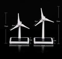 Mini Wind Turbine Generator Model Solar Wind Power Windmill Educational DIY Model Wind Solar Assembly Kit