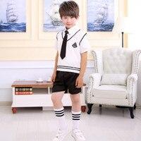 Uniforme escolar japonés de Los Niños estudiantes de la escuela secundaria uniformes Escolares ropa uniformes de rendimiento etapa de Recitación