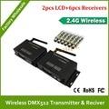 DHL быстрая Бесплатная доставка беспроводной dmx led контроллер 3-контактный XLR DMX512 беспроводной приемник/передатчик