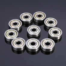 10pcs High Precision 625ZZ Carbon Steel Ball Bearings Single Row Deep Groove Radial Ball Bearing With Grease 5*16*5mm Mayitr cost performance 760203 su p4 ball screw shaft high speed precision bearings
