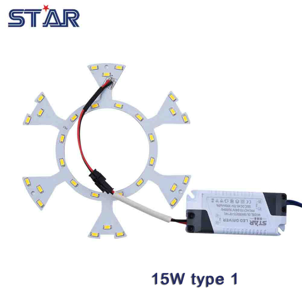 15w Led Ceiling Light Diy Replacement Magnet Board Pcb Smd5730 110 Aluminum Printed Circuit Making For Lighting 240v Emergency Fluorescent Cfl Lamp Panel Ring Tube In Lights From