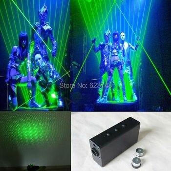 Двойной направление 532 нм зеленый лазерный меч со звездами луч DJ танцевальный сценический светильник Звездные войны лазерный меч для DJ клуб...