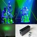 Dupla Direção 532nm Green Laser DJ feixe de Espada com estrelas Dancing Stage Show de Luz de star wars espada laser para DJ clube/Festa/Bares