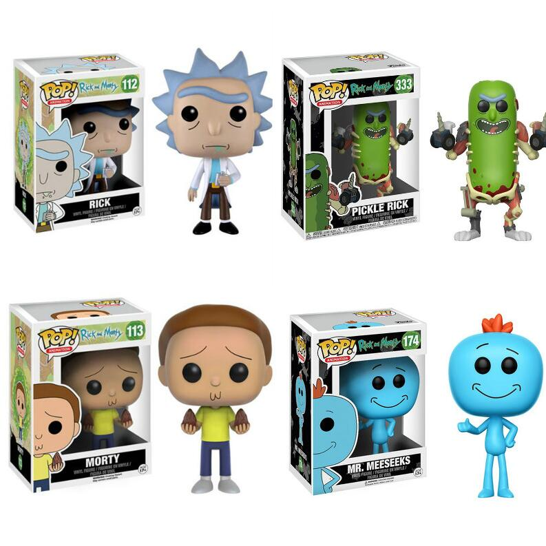 Funko POP Original Rick And Morty Action Figures Vinyl Model Boy Girl Toys Collection Model Toys