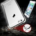 FLOVEME For iPhone 6 6S Plus Case Cover Transparent tpu Crystal Clear Case For iPhone 6 6S Plus For Samsung S7 S7 Edge Fundas