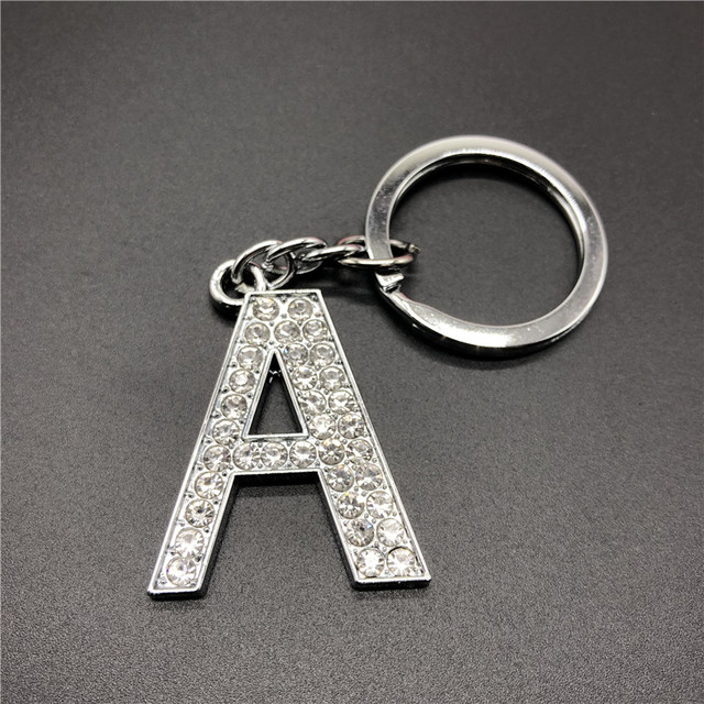 Carta de metal A corrente chave melhor amigo casal homem e mulher moda chave da cadeia de presente namorada namorado # AAA