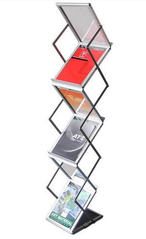 משלוח חינם דוכן תצוגת A4 עמדת חוברות - עיצוב לבית