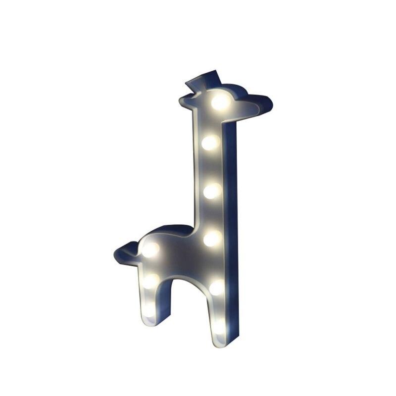 Luzes da Noite presente de aniversário lâmpada de Material do Corpo : Plástico